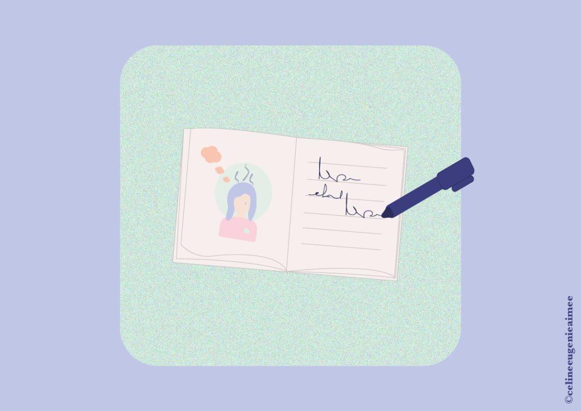 Accueillir ses émotions journal émotionnel pilule rose